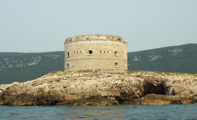 fort in the Kotorsky gulf, Montenegro