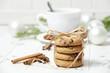 christmas cookies an cup of tea