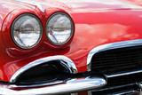 Vintage Sports Car Headlights