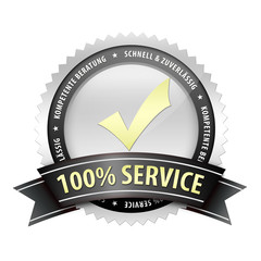 100 Prozent Service