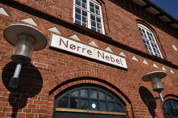 Bahnhof Nörre Nebel Dänemark