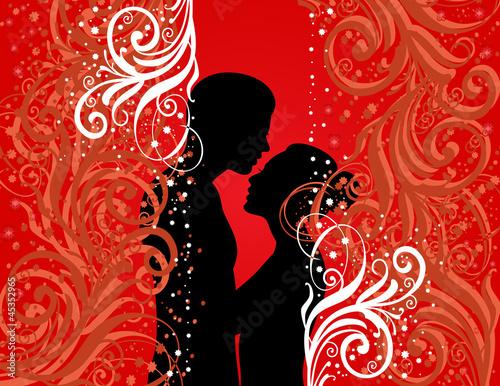 白色纹理绘图红色美景美丽的背景花花瓣叶装饰载体饰品魅力黑色see