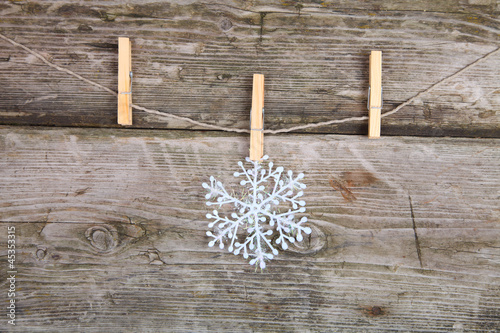 Christmas decorations (snowflake)