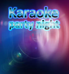 Karaoke party night