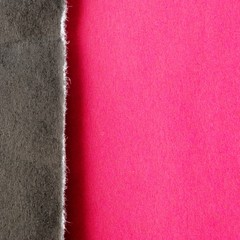background torn black and red paper
