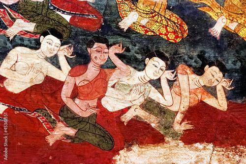 Thai mural painting - 45361551