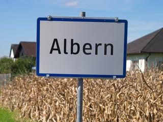 Ortschaft Albern in Oberösterreich