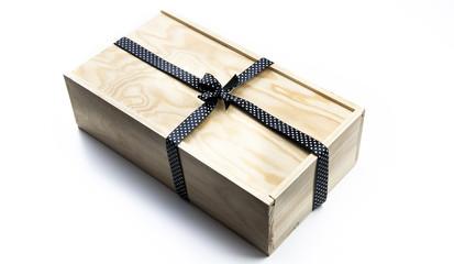 Regalo en caja de madera