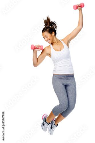 Active gym woman - 45367784