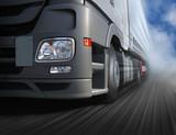 Fahrender Lastwagen - 45367976