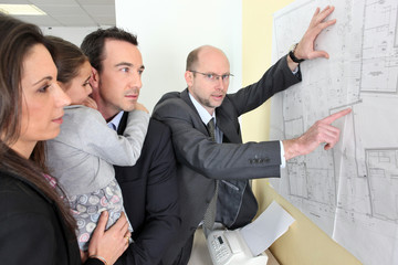 Architect with a young family