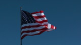 High flying flag