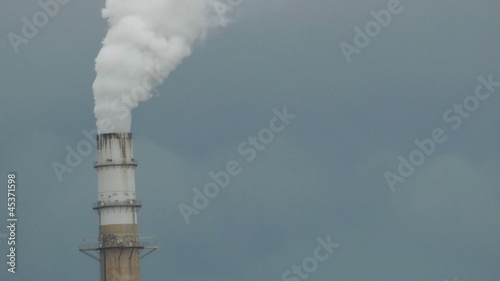 smoke stack closeup