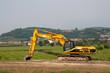 Hydraulic crawler excavator