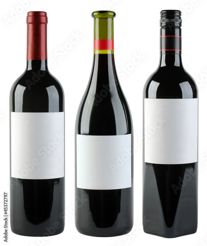 Wine Bottles Template