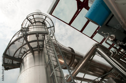 Paper and pulp mill - Cogeneration plant