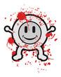 Blood smile kid