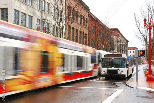 Leinwanddruck Bild Streetcar