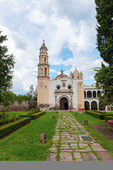 Oxtotipac church and monastery, Mexico