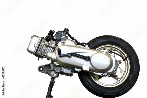 スクーターのエンジン