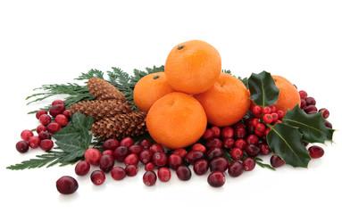 Mandarin and Cranberry Fruit