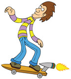 Turbo Skateboarding