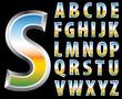 landscape silver letters
