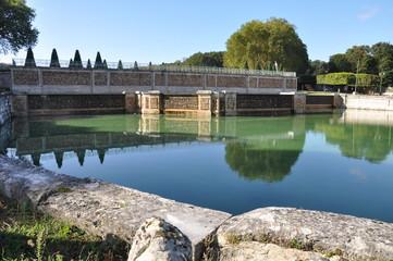 L'abreuvoir du Parc de Marly-le-Roi (Yvelines)