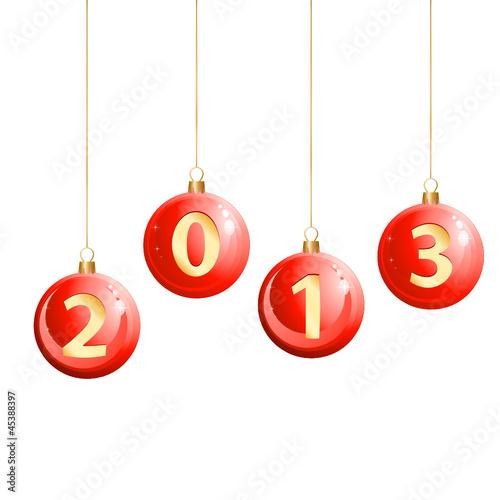Weihnachtskugeln 2013