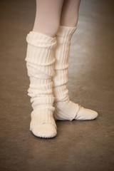 Füße beim Ballett