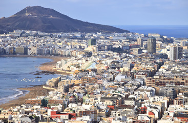 View over the city, Las Palmas de Gran Canaria