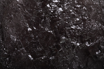 Piece coal macro texture background