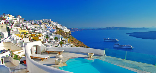 luxury holidays -Santorini