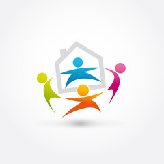 logo association, immobilier