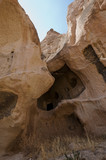 Fairy chimneys in Rose Valley, Cappadocia, Turkey