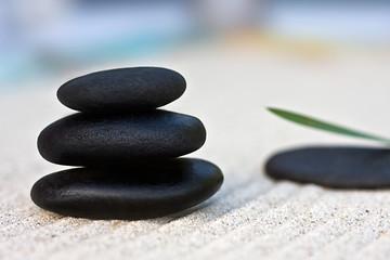 Stein Pyramide | Wohlbefinden | Zen Garten