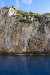 Roccia vulcanica dell'Isola di Dino