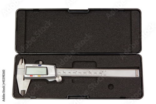 The new caliper trammel,with digital display in a case.