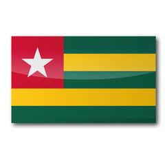Flagge Togo