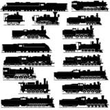 Fototapety Old locomotives