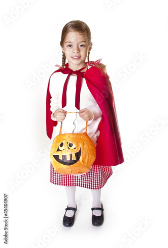 Cute little Halloween Trick-or-Treater