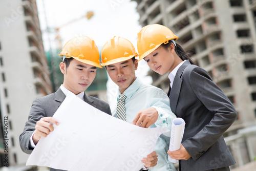 Industrial trio