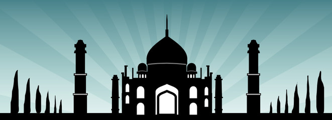 Moschee Himmel