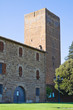 Tower of Lavello park. Tuscania. Lazio. Italy.