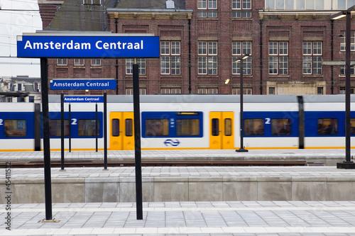 Amsterdam Central Station - 45411532