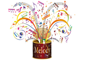 Melody can