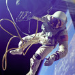 The first spacewalk ever performed