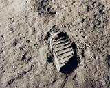 Fototapeta historia - Lunar - Przestrzenne
