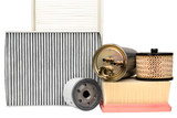 Various automotive filters