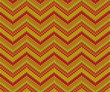 Orange seamless knitted pattern